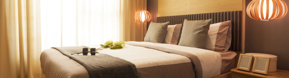 Our hospitality range offers an assortment of curtains, bedding and other exclusive hotel linens.