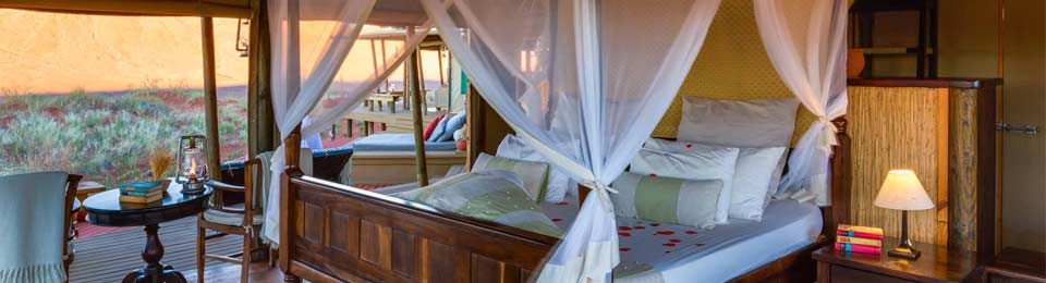 Our hotel mosquito nets and curtains will bring any game lodge to life.